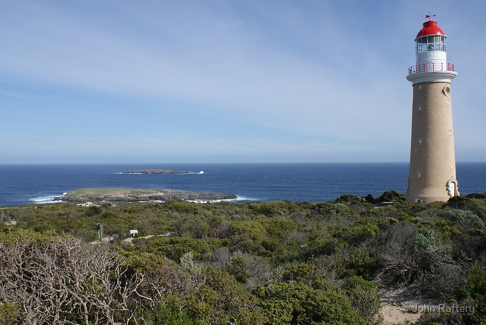 Cape du Couedic Lighthouse, Kangaroo Island by John Raftery