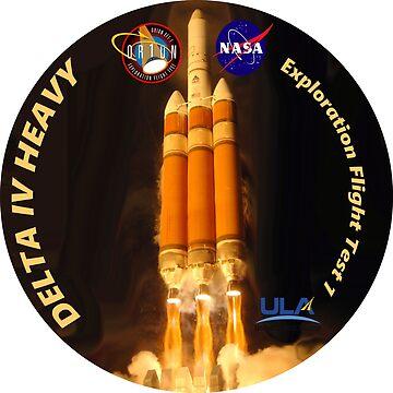 Delta IV Heavy Logo by Spacestuffplus