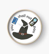 Gandalf you shall not pass Clock
