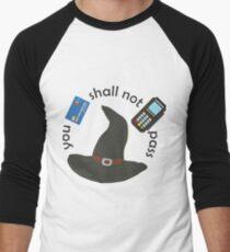 Gandalf you shall not pass Men's Baseball ¾ T-Shirt
