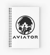 Aviator Fighter Pilot Spiral Notebook