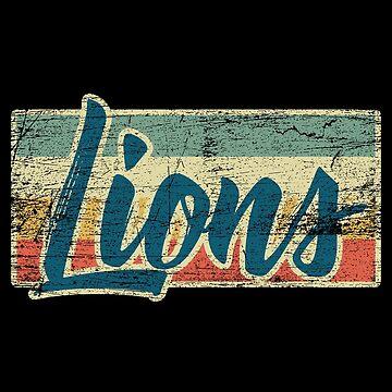 lions by GeschenkIdee