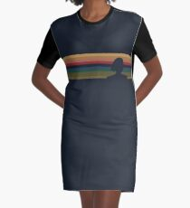 13's Silhouette - Doctor Who Graphic T-Shirt Dress