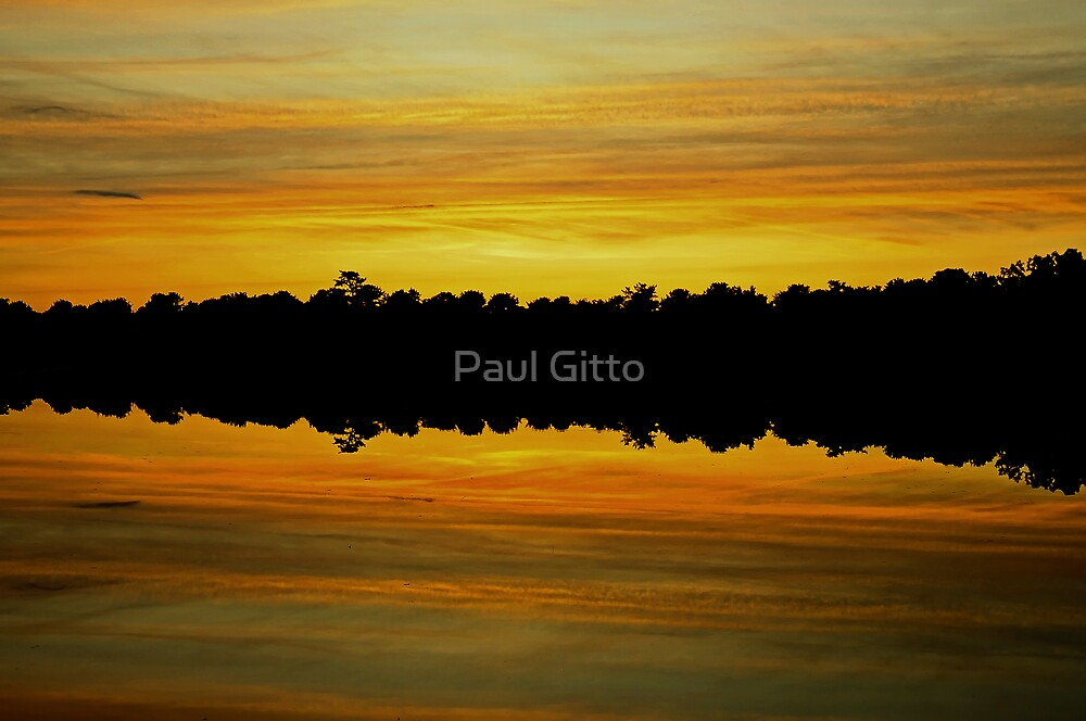 Yellow Dusk by Paul Gitto