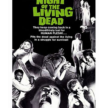 Night of the Living Dead by rcmarble