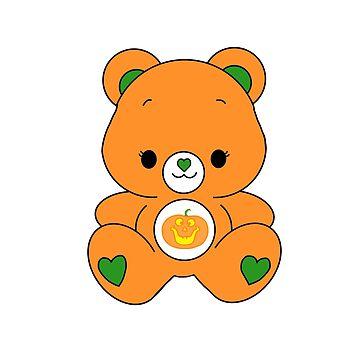 Pumpkin Bear by TrotLOeilArt