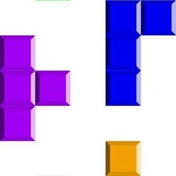 Tetris Blocks by joshuanaaa