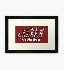 b7ea00e15e7345 Punjabi Evolution Framed Print