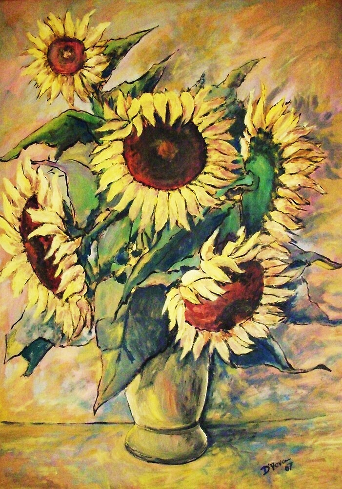 Sunflowers by Domnicev
