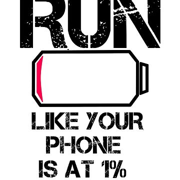 Run Smartphone jogging running Marathon gift gym by Moonpie90