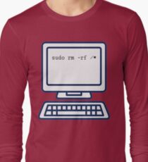 Fix My Computer - Try This Long Sleeve T-Shirt