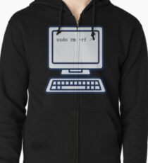 Fix My Computer - Try This Zipped Hoodie