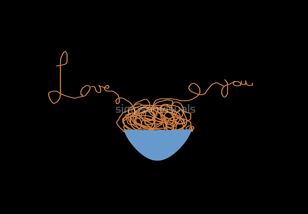 Spaghetti Love by simpsonvisuals