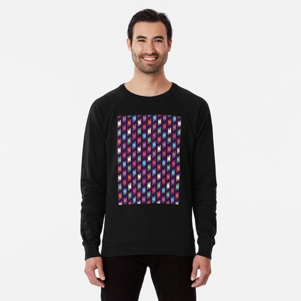 Boho-schickes Muster 1 Leichter Pullover