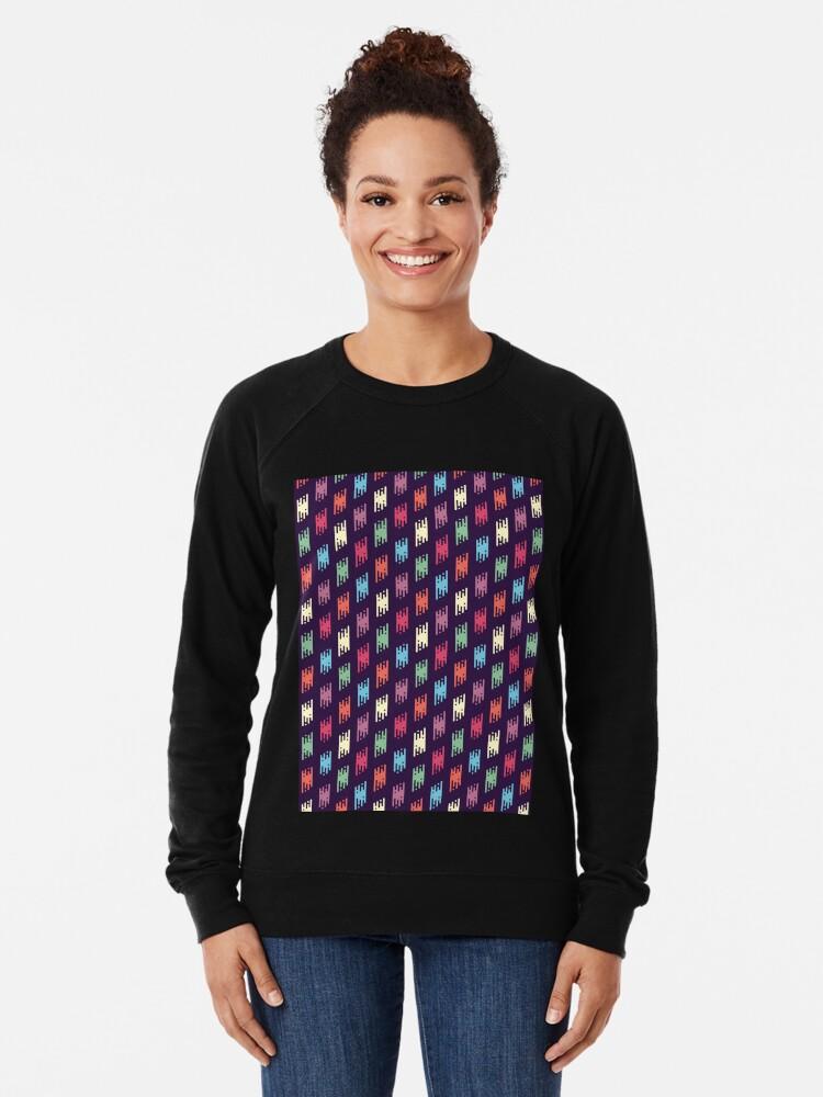 Alternative Ansicht von Boho-schickes Muster 1 Leichter Pullover