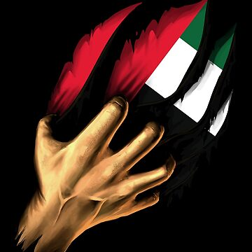 Emiratis in Me United Arab Emirates Flag DNA Heritage Roots Gift  by nikolayjs