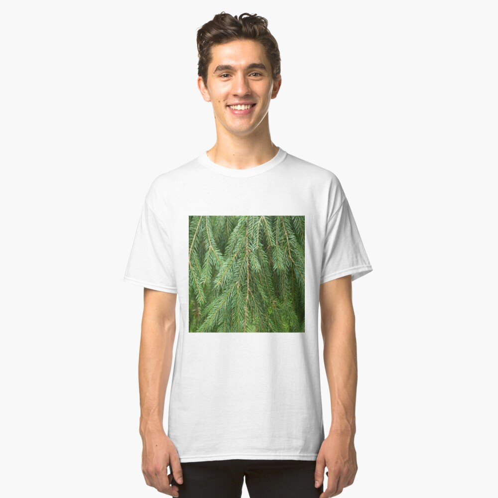 Pine Tree Closeup Classic T-Shirt