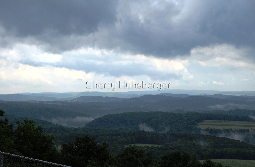 Storm in the Mountains by Sherry Hunsberger
