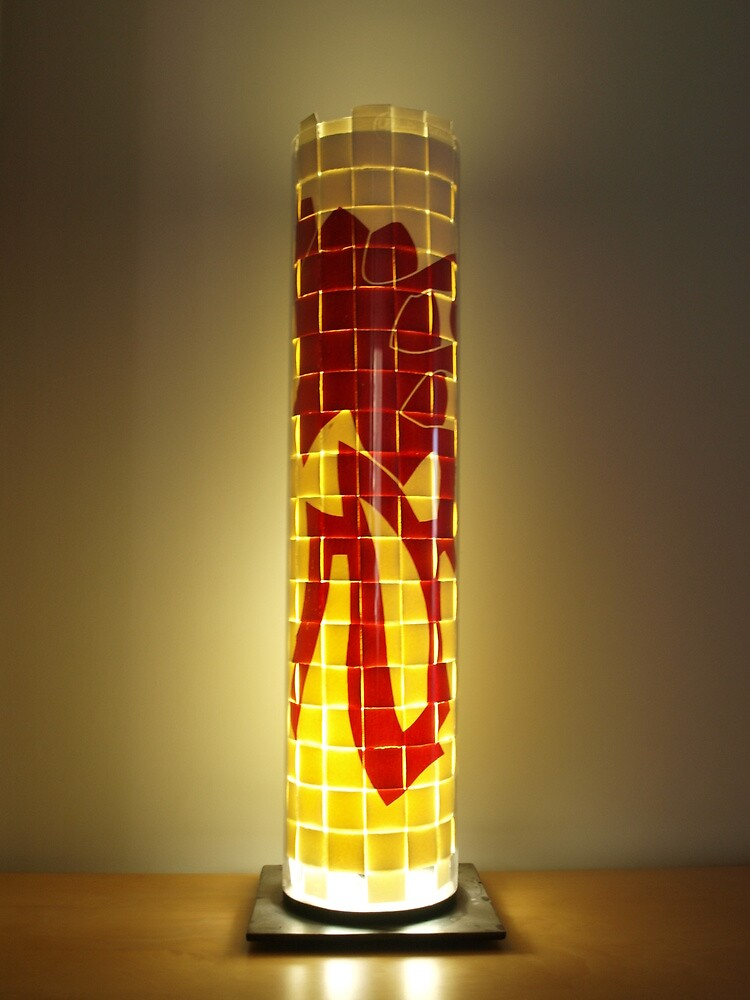 Lamp and Print by Javier Albar