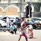Mumbay-Streetlife by Anca  Reichlmair