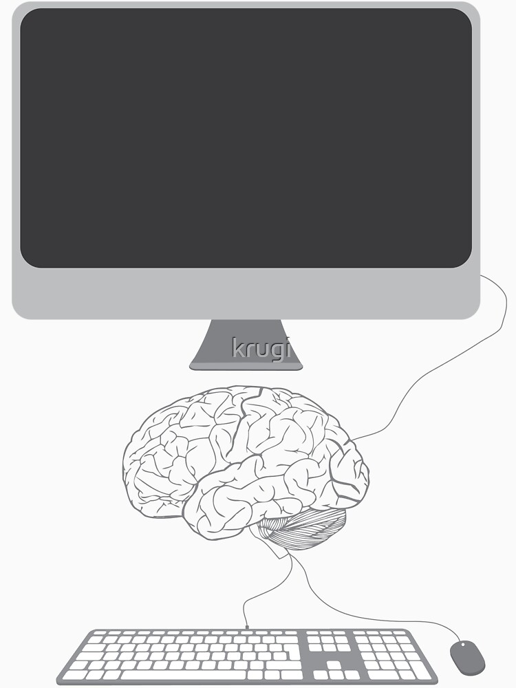 Computed Brain by krugi