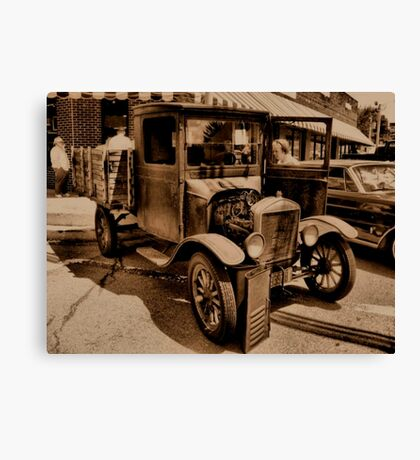 """1929 MODEL T FORD""... prints and products Canvas Print"