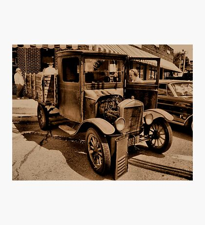 """1929 MODEL T FORD""... prints and products Photographic Print"