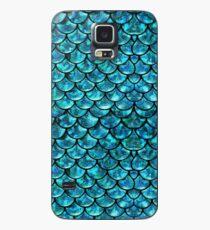 Meerjungfrau-Skalen Hülle & Skin für Samsung Galaxy