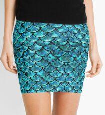 Mermaid Scales  Mini Skirt