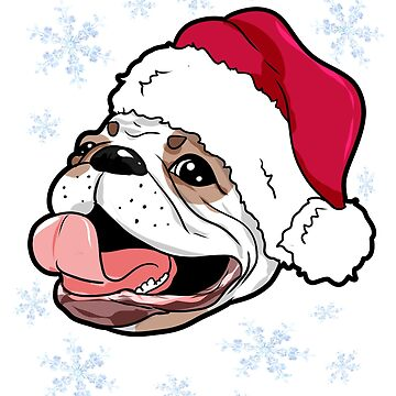 French Bulldog Christmas Present Gift by Moonpie90