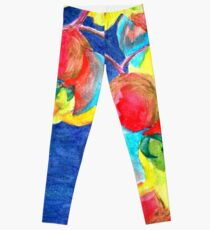 Orchids Painting Leggings
