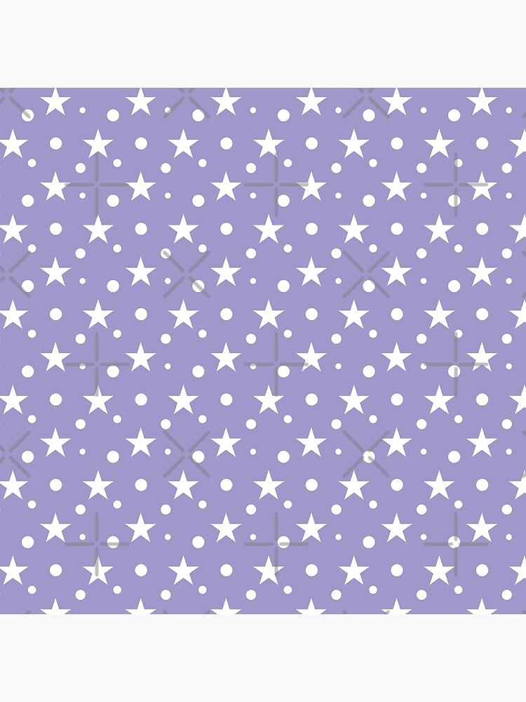 Patrón de estrellas y círculos de stutzy