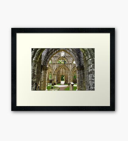 Archways at Dunkeld Cathedral. #2 Framed Print