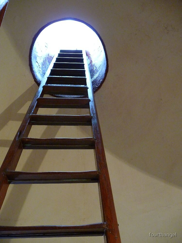 Lighthouse ladder by fourthangel