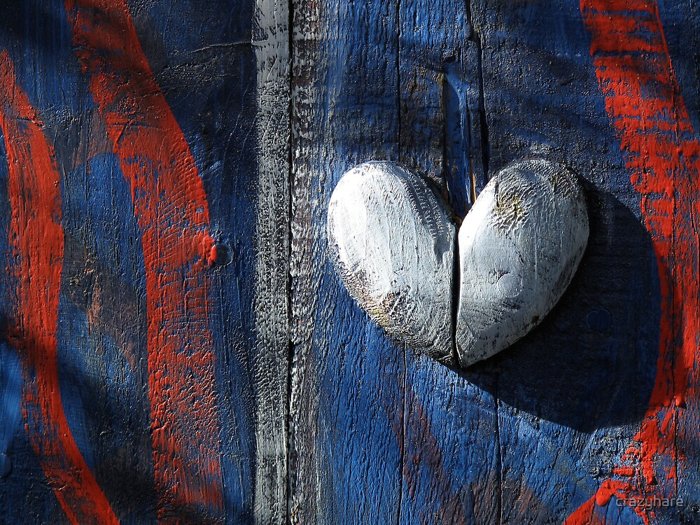Patriotic Heart.  by crazyhare