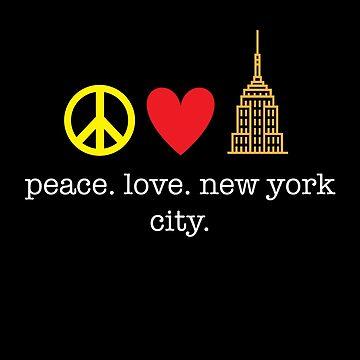 Peace. Love. New York. by kirei