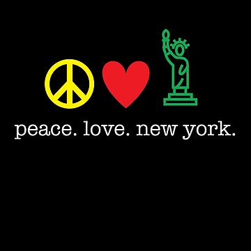 Peace. Love. New York. by kirei