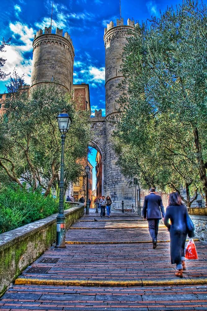 Genoa center,Porta Soprana by oreundici