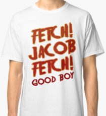 Fetch Jacob Fetch Werewolf Twilight Classic T-Shirt