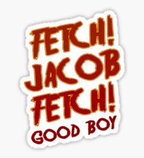 Fetch Jacob Fetch Werewolf Twilight Sticker