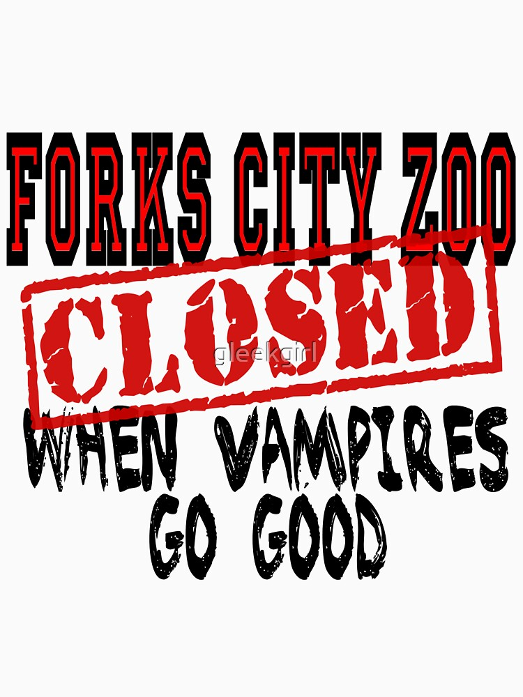 Forks City Zoo Closed Twilight by gleekgirl