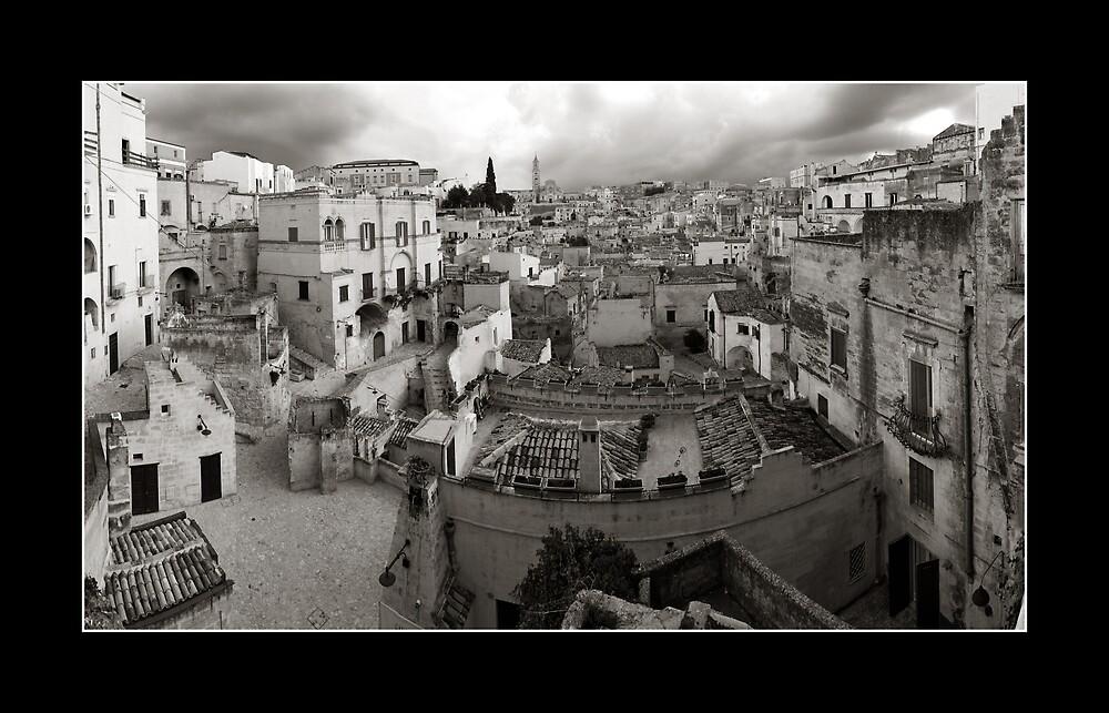 Sassi di Matera in Black and White by tunibbles