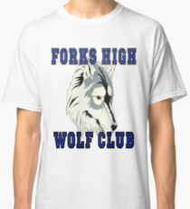 Forks High Wolf Club Twilight Werewolf Classic T-Shirt