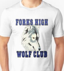 Forks High Wolf Club Twilight Werewolf T-Shirt