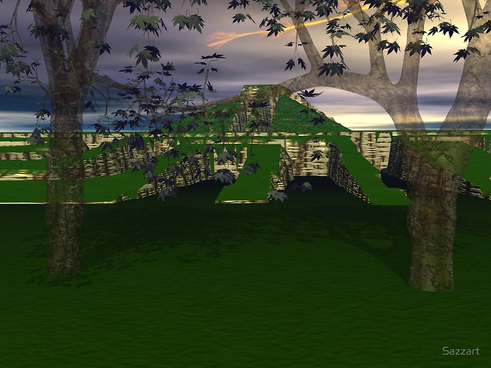 Temple of Illusions SA by Sazzart