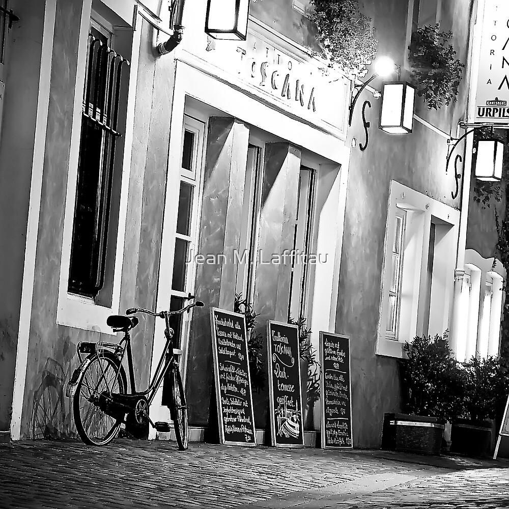 In the streets of Saarbruecken (Germany) by Jean M. Laffitau