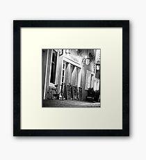 In the streets of Saarbruecken (Germany) Framed Print