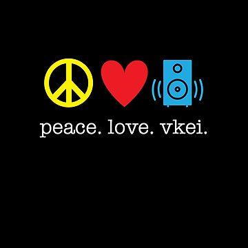 Peace Love Vkei by kirei