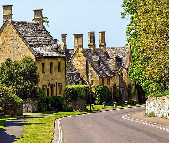 Quaint streets of England by ScenicViewPics