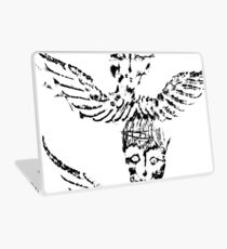 Black & White Abstract Angels Laptop Skin